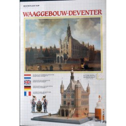 Bouwplaat Waaggebouw Deventer