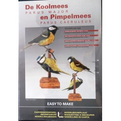 Bouwplaat Koolmees +...