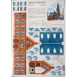 Bouwplaat Munttoren Amsterdam