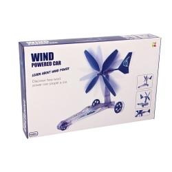 Auto op windenergie