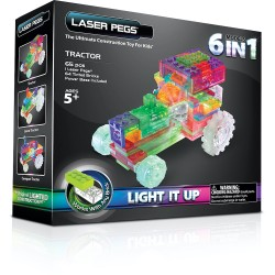 Laser Pegs 6 in 1 Tractor