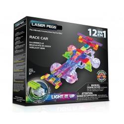 Laser Pegs 12 in 1 Race Car