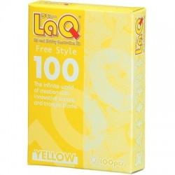 LaQ Free style 100 GEEL
