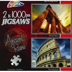 Grafix puzzel 2x1000