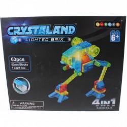 Crystaland Bi-Pod robot