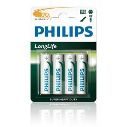 Philips LongLife AA (4x)