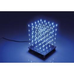 K8018B 5x5x5 LED-CUBE Blauw